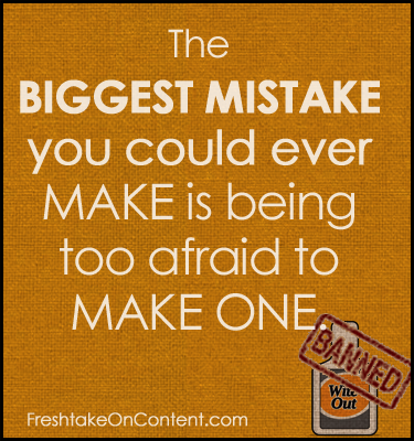 How to Overcome the Fear of Making Mistakes