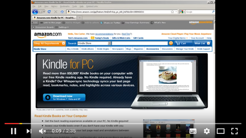 How to Read Kindle Books On Your Computer - Internet