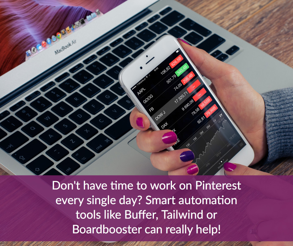 don't have time to work on Pinterest every single day-use smart automation