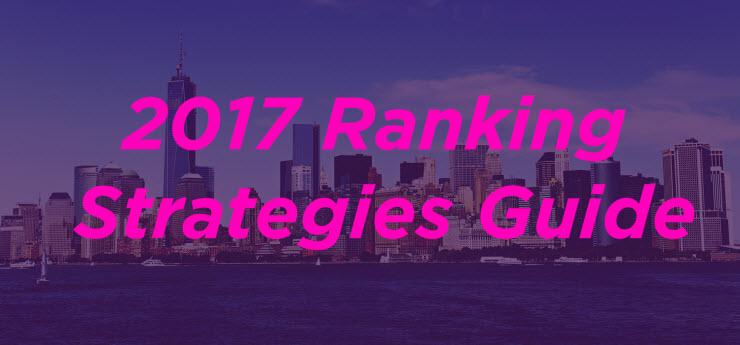 The 2017 SEO Ranking Strategies