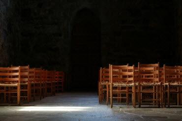 What Is Your Actual, Deep-Down, Target Audiencechairs in darkroom
