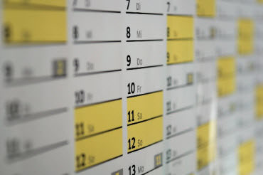 calendar - You need to know what you expect from a piece of content before you create it