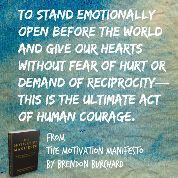 "Preview of Brendon Burchard's ""THE MOTIVATION MANIFESTO ..."