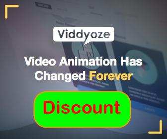 viddyoze discount banner